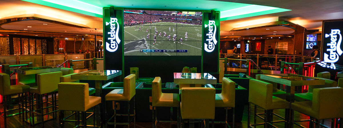 Carlsberg Sports Bar in the Empire Casino London