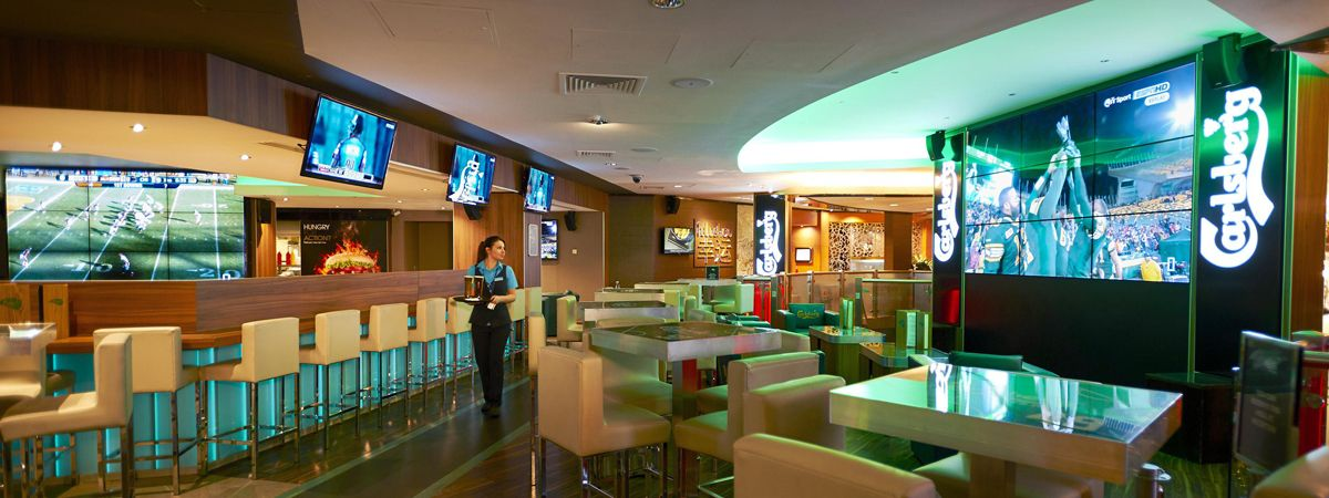 Sports Bar Hire at Empire Casino