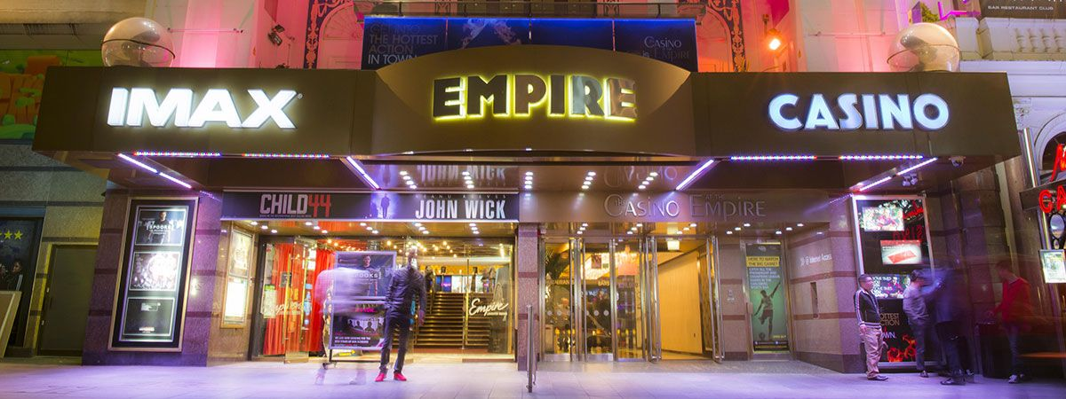 Outside The Casino at The Empire London Leicester Square