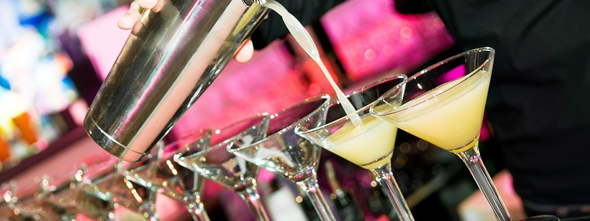 Cocktail Pouring at The Casino at The Empire