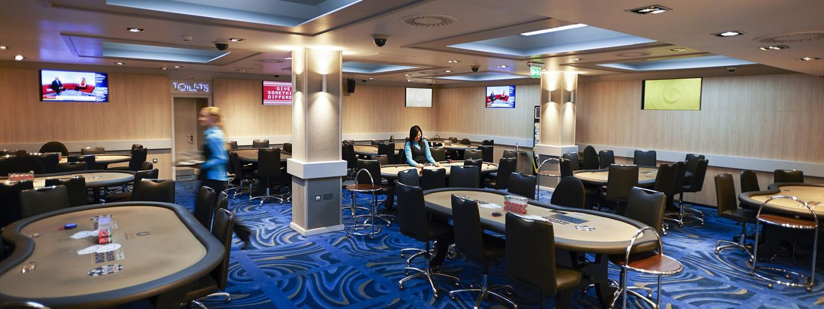 Poker Room in the Casino at The Empire London